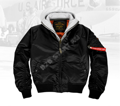 Бомбер 7,26 MA-1 Flight Jacket Black