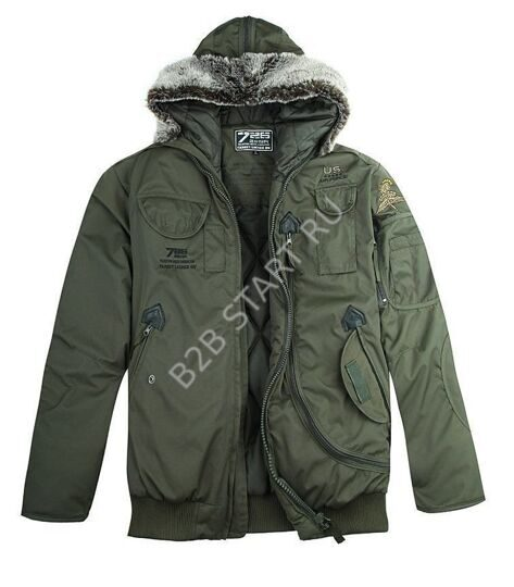 Куртка Bomber Winter Олива