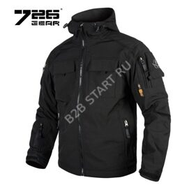 Куртка 7.26 Gear Soft Shell Черный